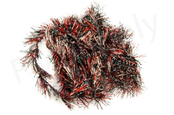 Long Holo Red Hackle Chenille Dyed 30 mm