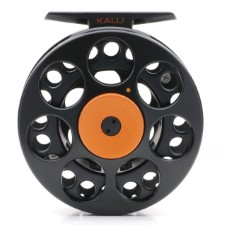 Vision Kalu Black Reel Orange Knob