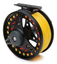 Vision Koma Reel Black