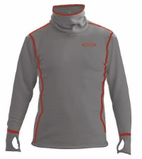 Vision Power Hoodie Top Light Grey