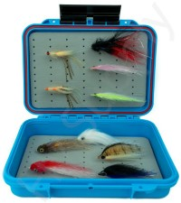 Vision Aqua Salt Box With 10 Seabass Streamers