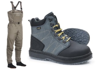 Vision Atom Wader Set With Atom Gummi Shoes
