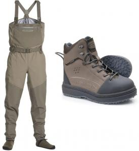 Vision Koski Wader Set With Gummi Shoes