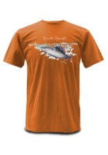 Simms T-Shirt Weiergang Grayling Fury Orange
