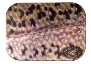 Wheatley Flat/Ripple Small Trout Purple Aluminium Fly Box