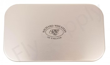 Wheatley Slot/Slit Large Thin Silver Aluminium Fly Box