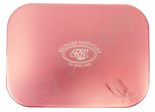 Wheatley Slot/Slot Small Pink Aluminium Fly Box