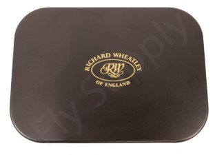 Wheatley 8 Window Small Black Aluminium Fly Box