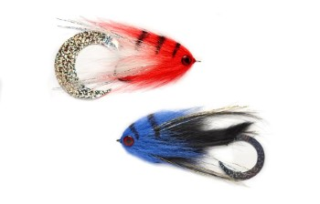 Paolo's Wiggle Tail Pike Streamer Set 2pc