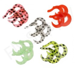 Wiggle Tail Set Durable Vinyl 20pc
