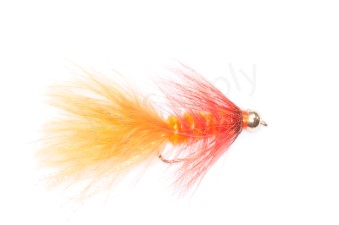 Goldbead Wooly Bugger Hot Orange 2,5 cm