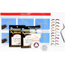 Zebra Midge Fly Tying Kit