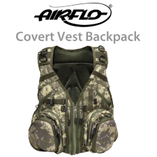 Airflo Outlander Covert Vest and Backpack