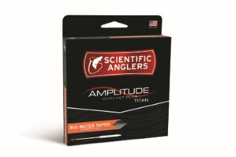 Scientific Anglers Amplitude Big Water Taper Black/Surf/Sand Fly Line