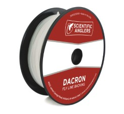 Scientific Anglers Dacron Backing White
