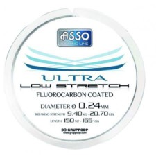 Asso Ultra Fluorocarbon Coated Nylon 50 m Spool