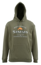 Simms Badge of Authenticity Hoody Olive