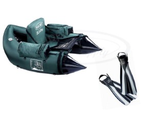 Mac Fishing DLX Pro Belly Boat + Free Large Finns