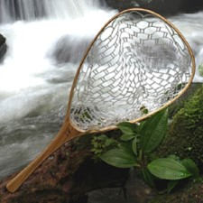 Brodin landing net Ghost Frying Pan Float tube