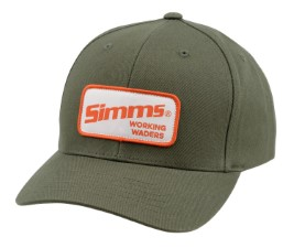 Simms Classic Baseball Cap Working Waders Loden