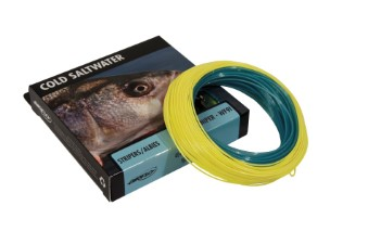 Airflo Ridge Cold Saltwater Intermediate 1.5 Inch Per Sec Power Core Clear Blue WF Fly Line