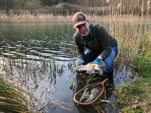 Winston PURE Fly Rod Team Fly Supply Test France