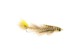 Umpqua Double Gonga Tan/Yellow #4/4