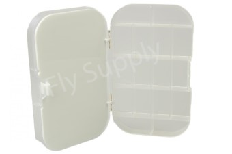 Clear 16 Compartment & Foam Fly Box