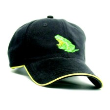 Frog Hair Fishing Cap Black