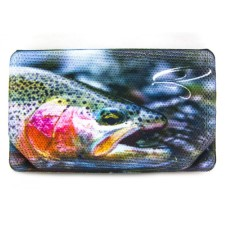 Rainbow Trout Foam Fly Box Large