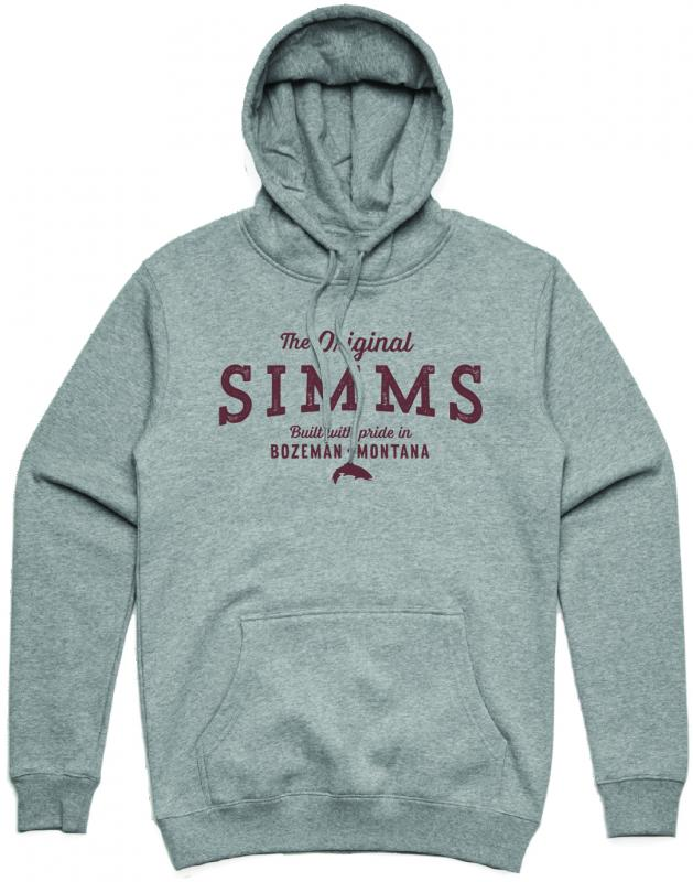 Simms The Original Hoody Grey Heather