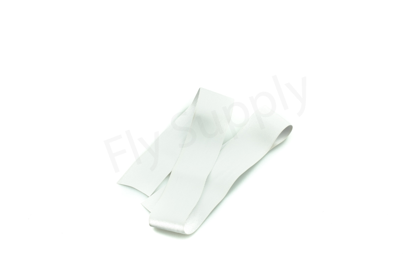 Round rubber legs medium  White