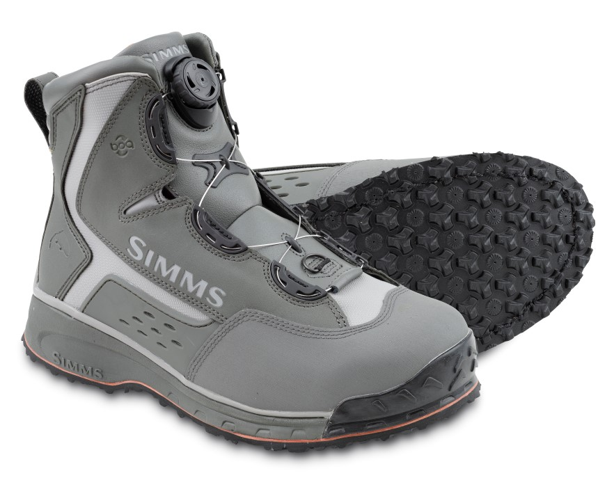 Simms Rivertek BOA Vibram Boot Gunmetal
