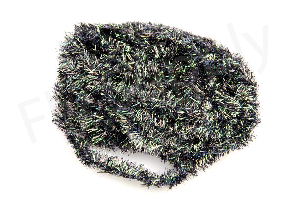 Pearly Blob Chenille Black