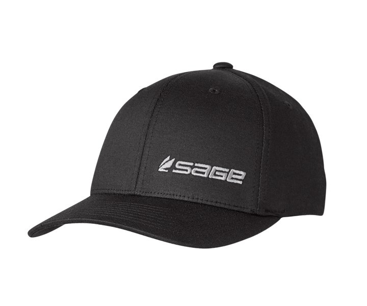 Sage FlexFit Black Cap