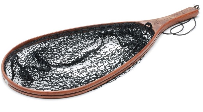 Vision Brown Wooden Black Net With Magnetic Holder
