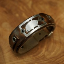 Sight Line GT 2.0 Horween Brown Leather Bracelet