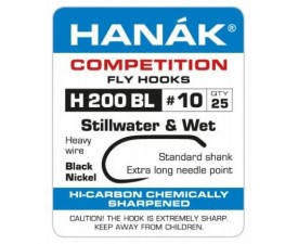 Hanak Stillwater & Wet H 200 BL Hooks 25 pc
