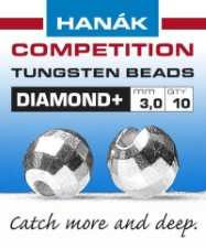 Hanak Diamond + Silver Faceted 20pc