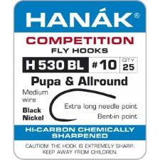 Hanak Pupa & Allround H 530 BL Hooks 25 pc