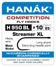 Hanak Streamer XL H 950 BL Hooks 25 pc