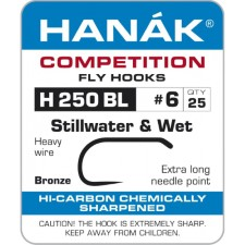Hanak Stillwater & Wet H 250 BL Hooks 25 pc