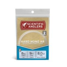Scientific Anglers Hard Mono AR Leaders 9ft 2 pack