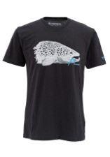 Simms T-Shirt Kype Jaw Black