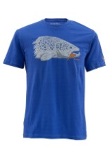 Simms T-Shirt Kype Jaw Deep Sea