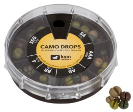 Loon Camo Weight Drops 6 sizes Box