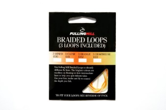 Fulling Mill Fluo Braided Loops 3 pc