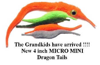 Cascade Micro Dragon Tails 5pc