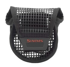Simms Mesh Reel Pouch Black Small