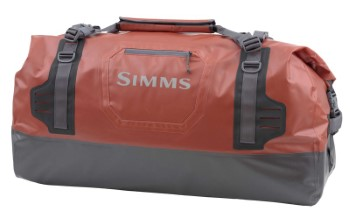 Simms Dry Creek Duffel L Bright Orange